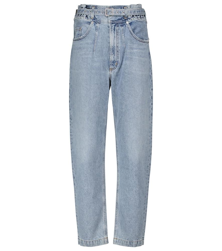 Riya high-rise tapered jeans