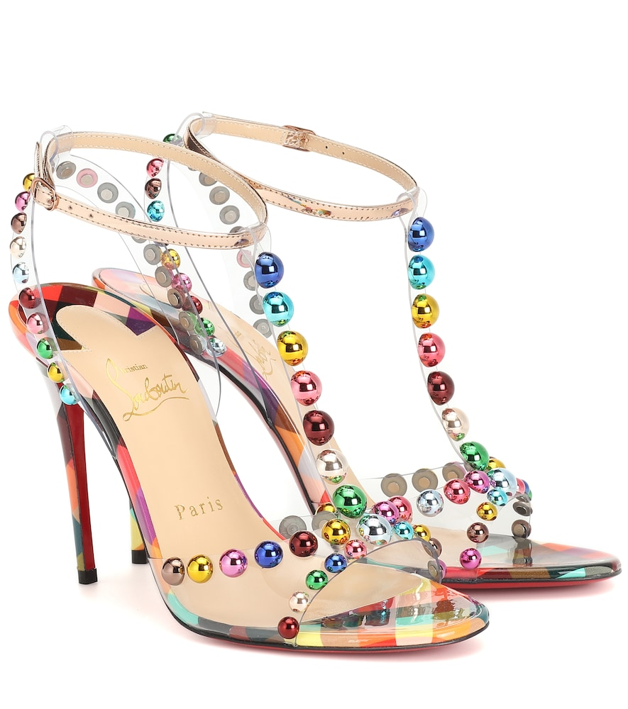 CHRISTIAN LOUBOUTIN | Faridaravie 100 PVC sandals | Goxip