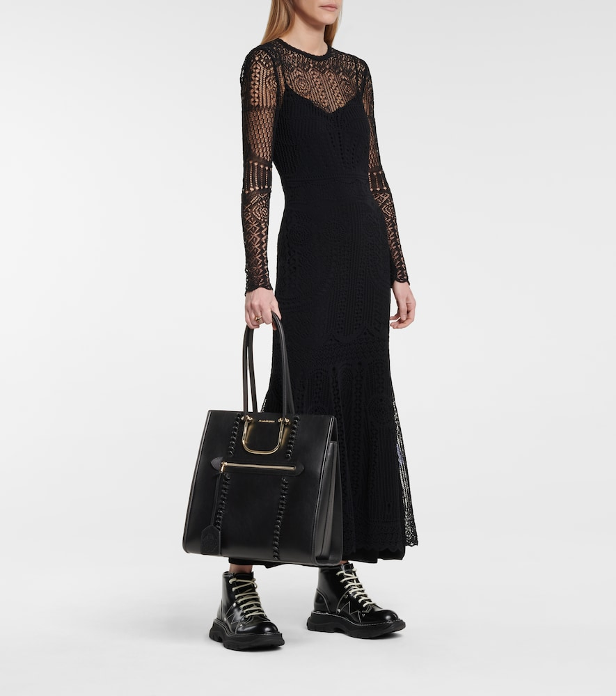 ALEXANDER MCQUEEN Leathers THE TALL STORY LEATHER TOTE