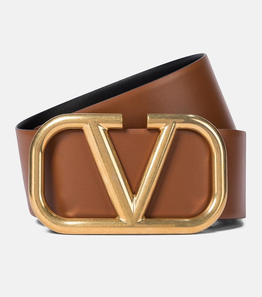 Valentino Garavani – Ceinture VLOGO réversible en cuir
