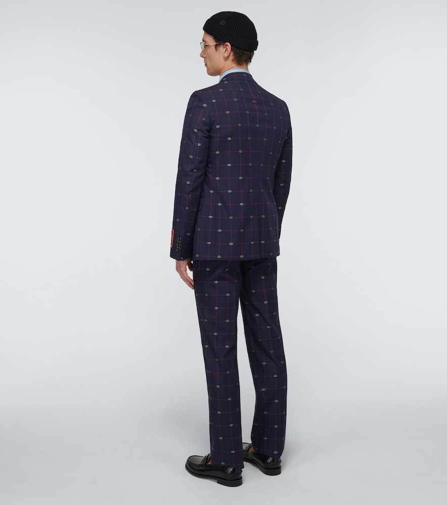 GUCCI Wools GG WOOL SUIT
