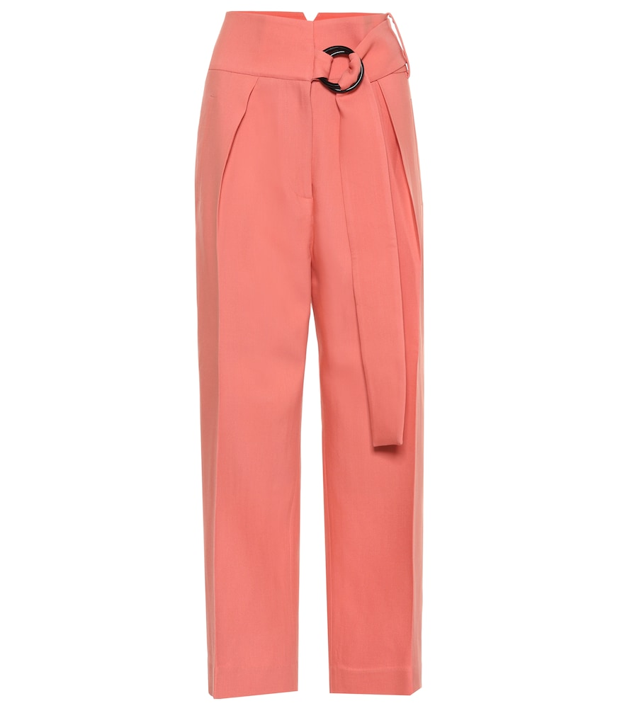 Pantalon Hayes en laine et soie