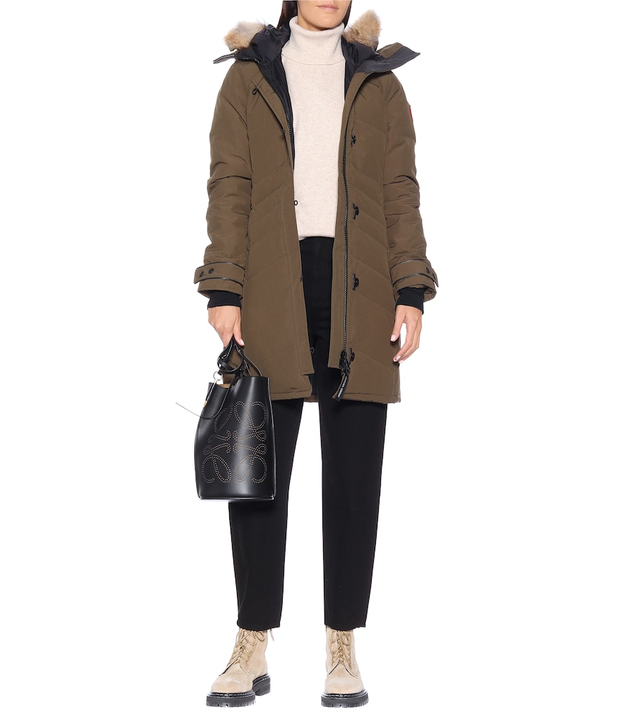 Lorette down parka by Canada Goose
