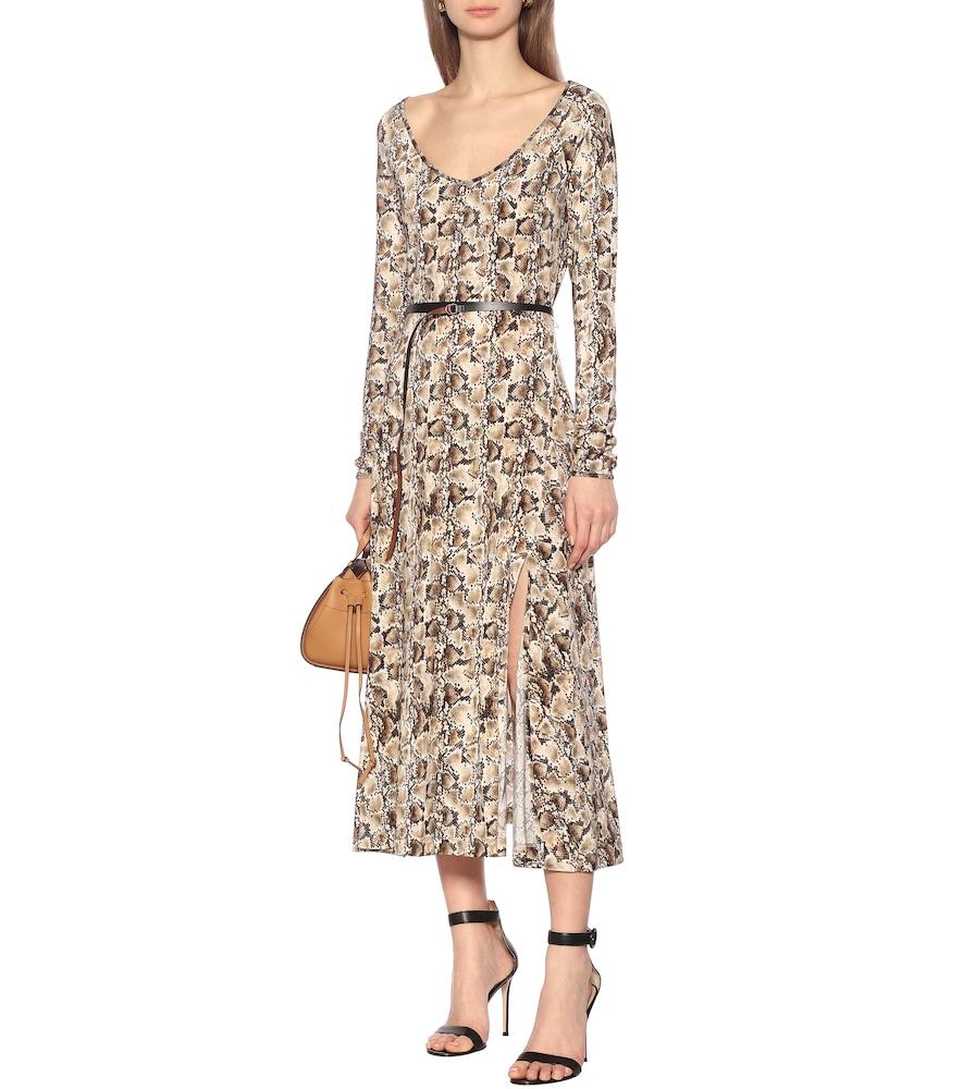 Phoebe printed midi dress by Altuzarra