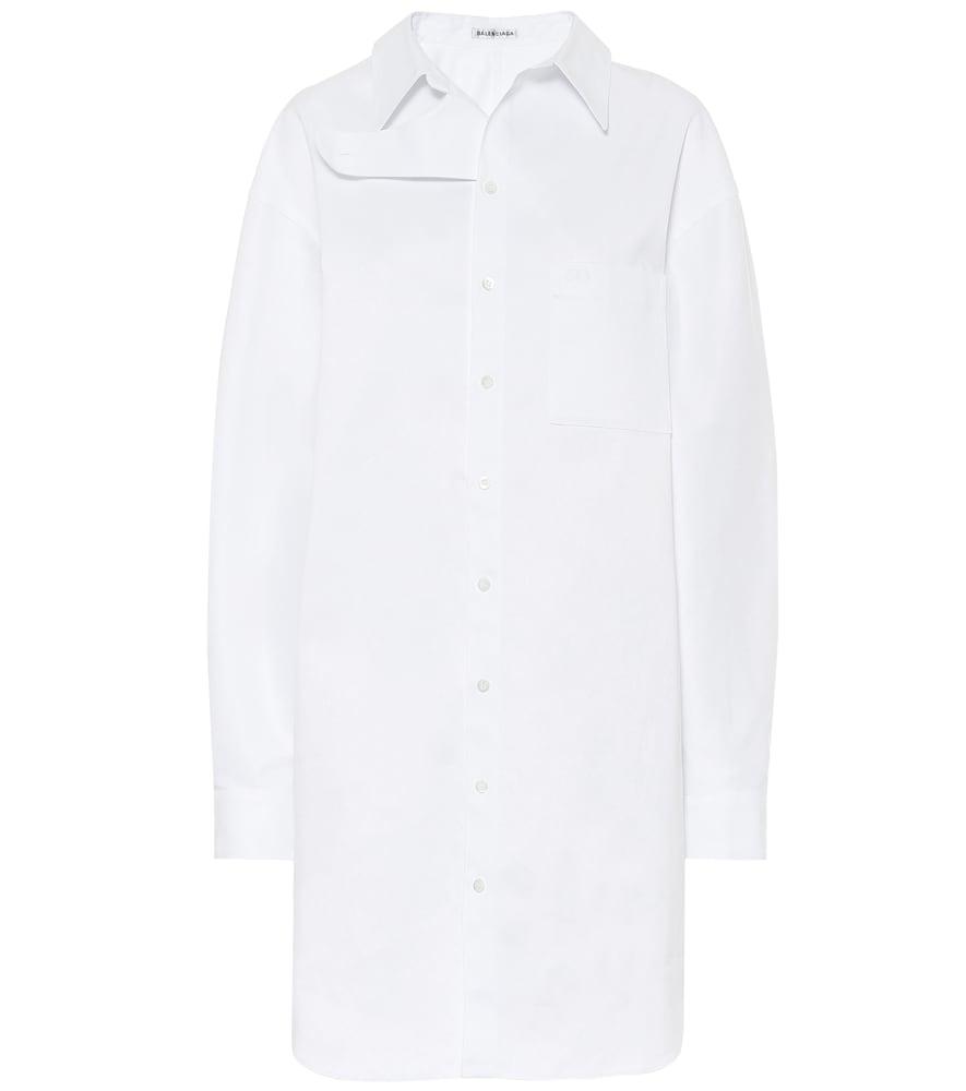 Cotton-poplin dress by Balenciaga