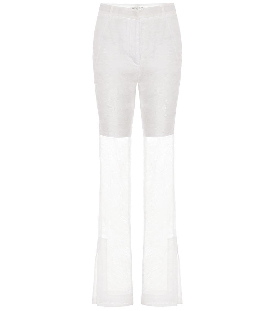 Pantalon Elisabeth à taille haute
