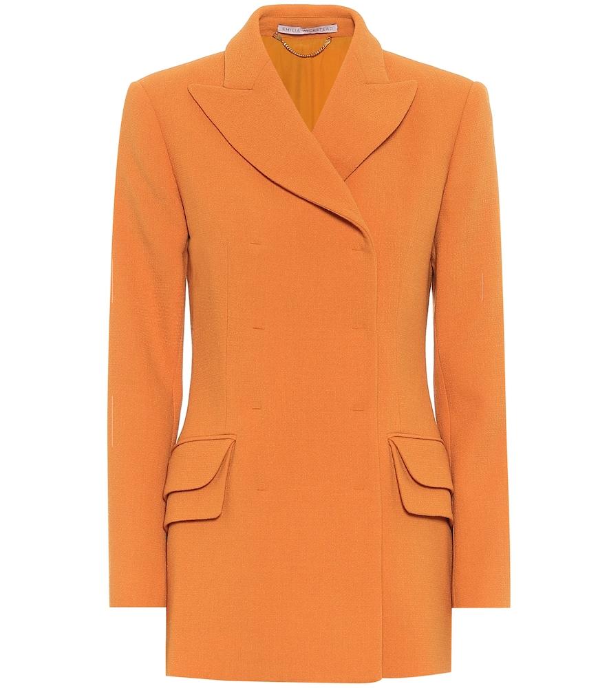 Brenton wool blazer by Emilia Wickstead