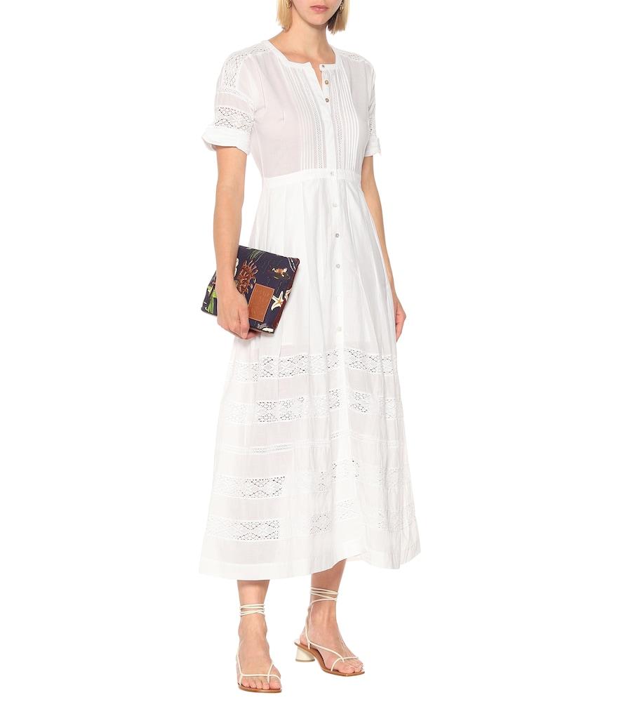Edie cotton maxi dress by LoveShackFancy