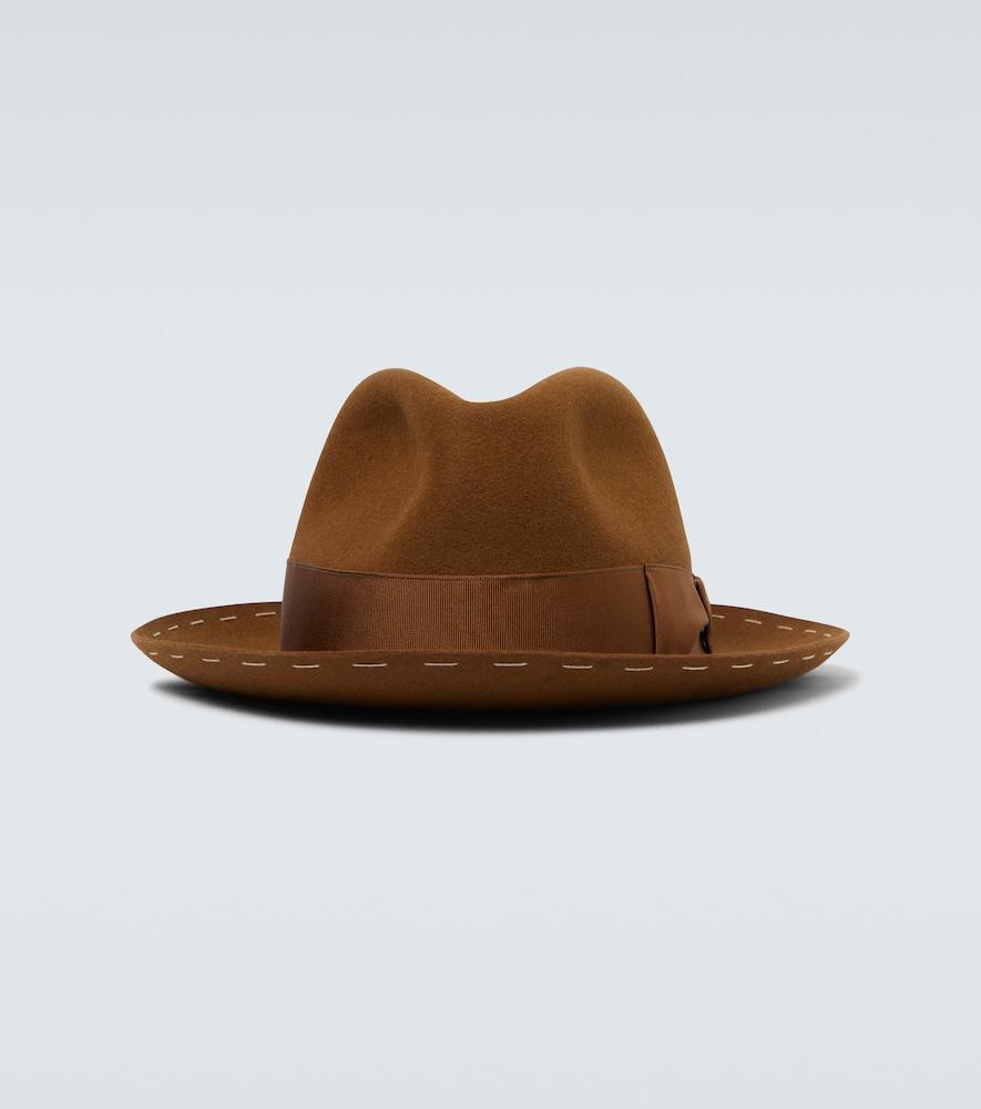Decor band fedora hat