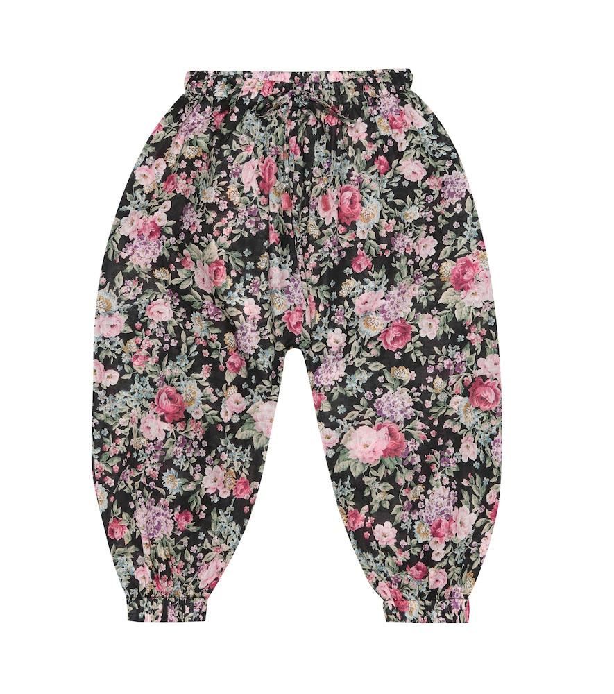 ZIMMERMANN | Floral Cotton Pants | Goxip