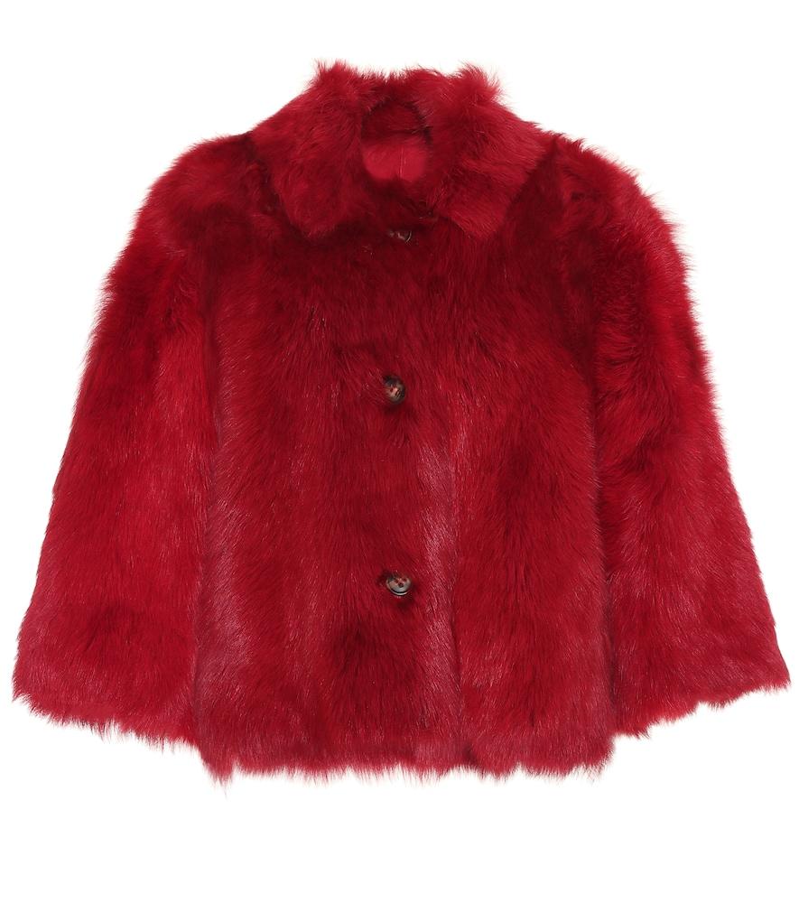 Reversible shearling jacket by REDValentino