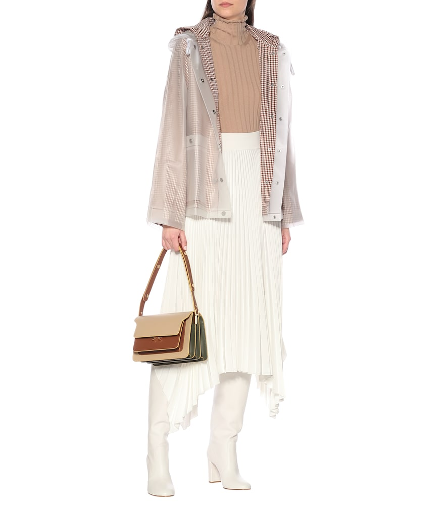 PVC and cotton jacket by Proenza Schouler