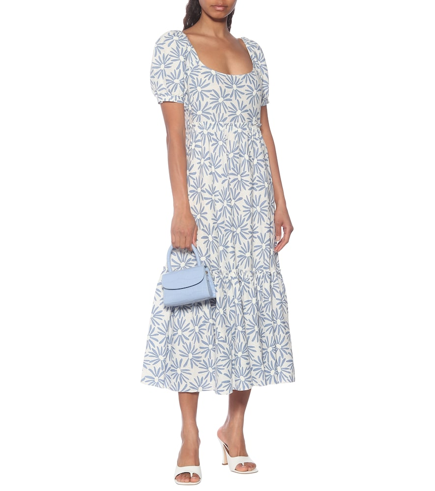 Exclusive to Mytheresa - Kai floral linen midi dress by Polo Ralph Lauren