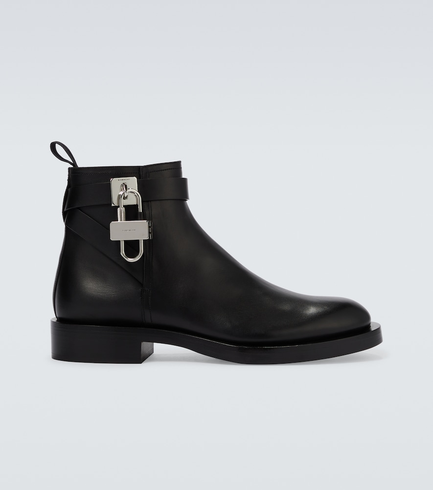 Givenchy Boots PADLOCK ANKLE BOOTS