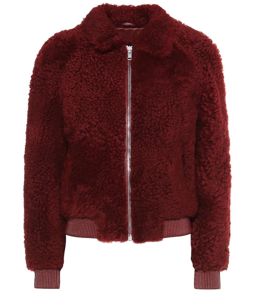 Salvia shearling bomber jacket by Isabel Marant