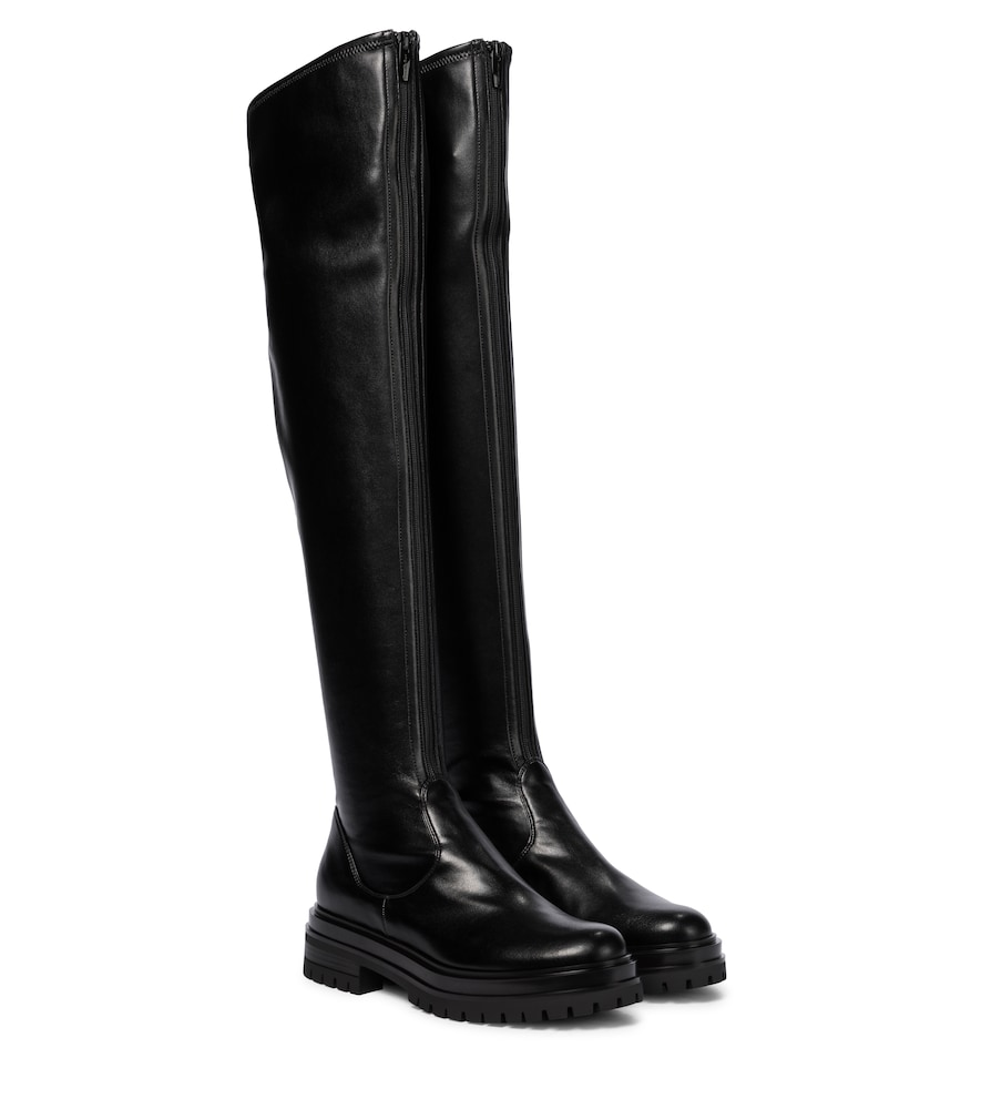 Marsden leather over-the-knee boots