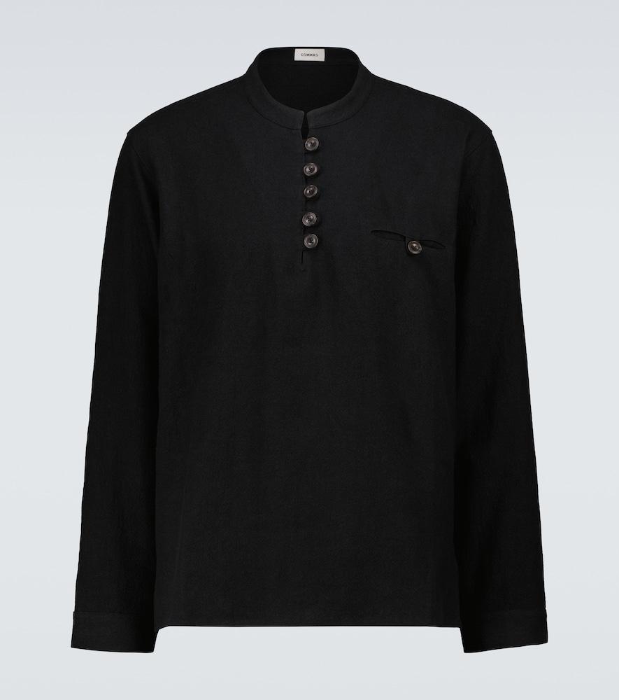 Artist linen and cotton shirt