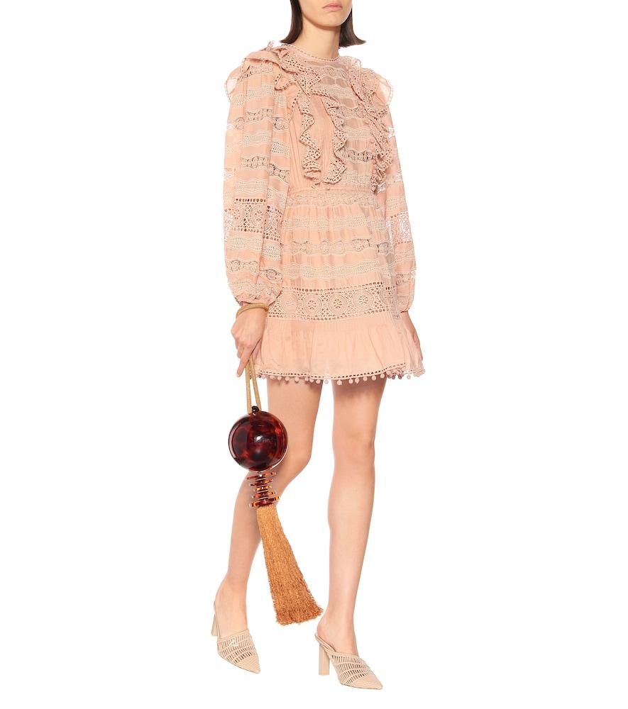 Jolie cotton-blend minidress by Ulla Johnson