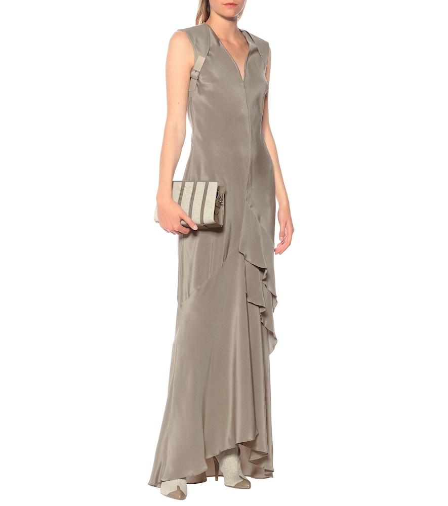 Arezzo silk-crêpe gown by Max Mara