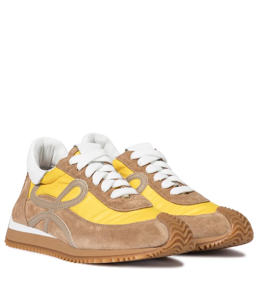 Loewe Sneakers FLOW RUNNER SUEDE SNEAKERS