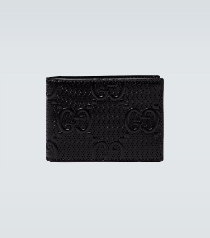 GUCCI GG EMBOSSED LEATHER WALLET
