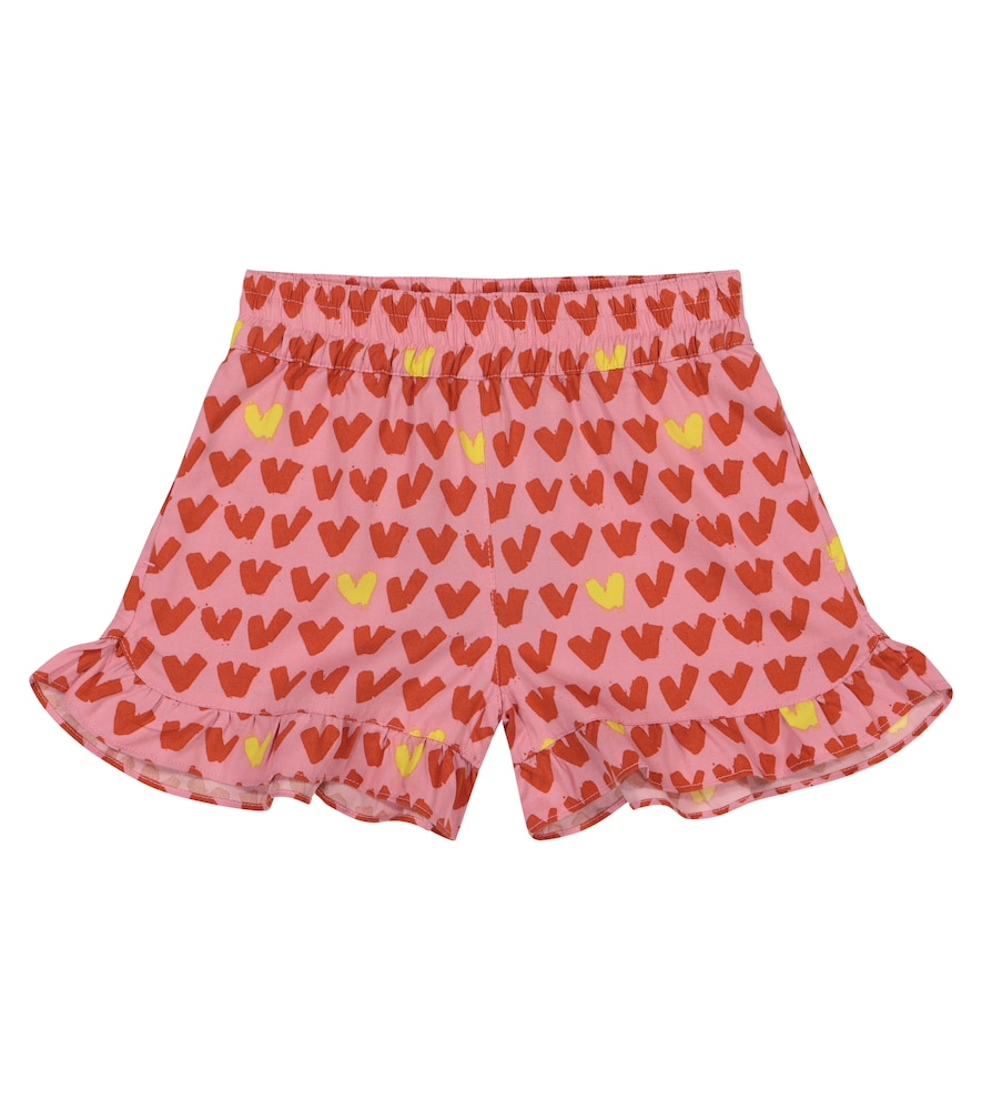 Stella Mccartney HEART-PRINT SHORTS