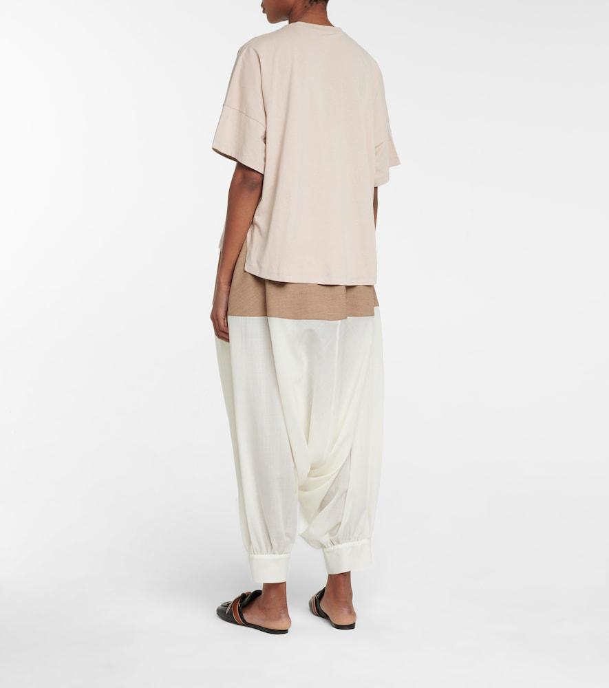 LOEWE Cottons ANAGRAM COTTON T-SHIRT