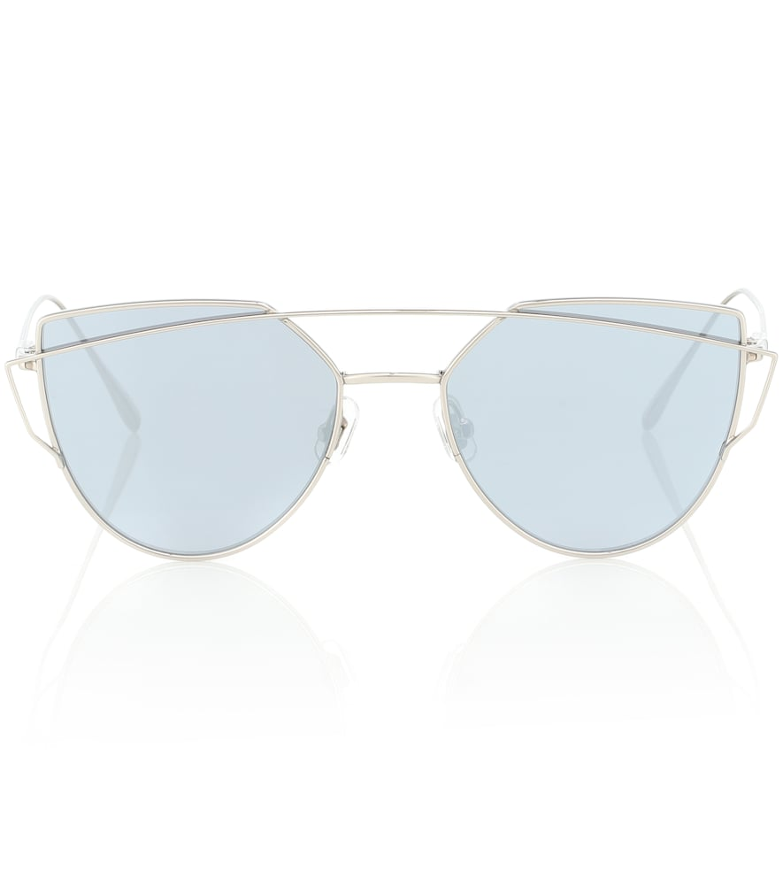 4aab8ddb8705 Gentle Monster Love Punch Titanium Sunglasses In Silver
