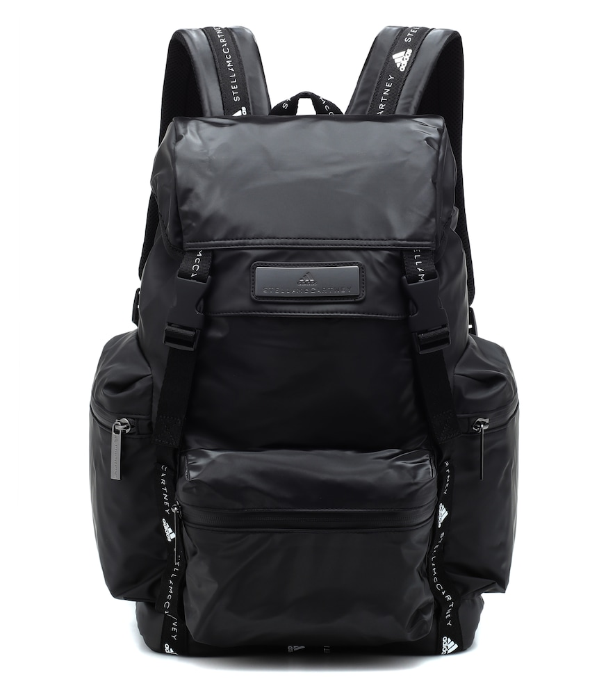 Technical Fabric Backpack in Black