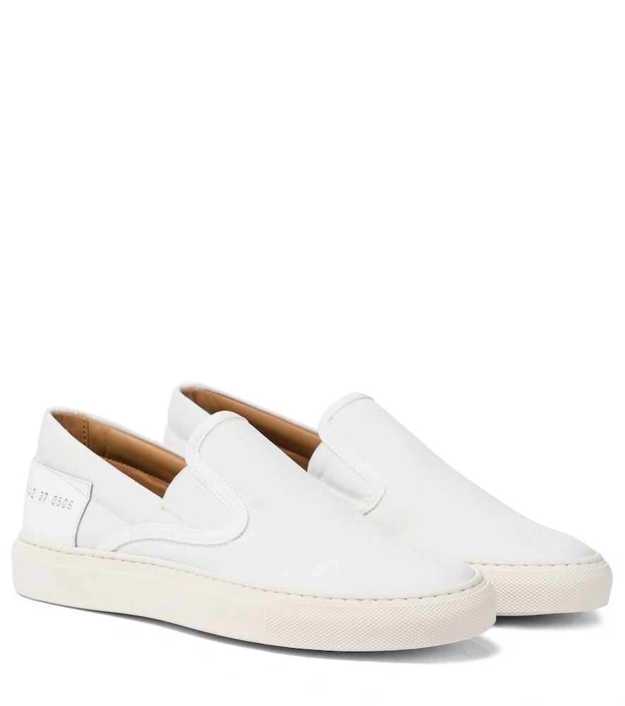 Common Projects SLIP ON CANVAS SNEAKERS
