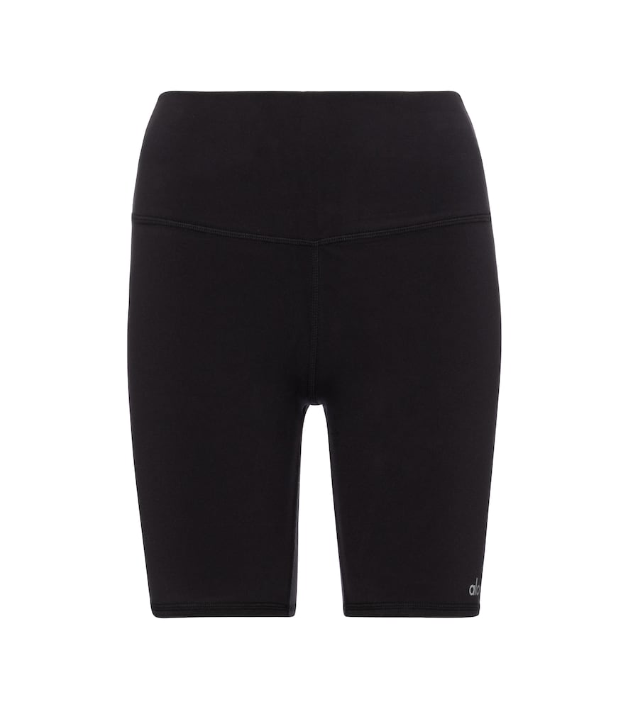 Stretch-jersey biker shorts