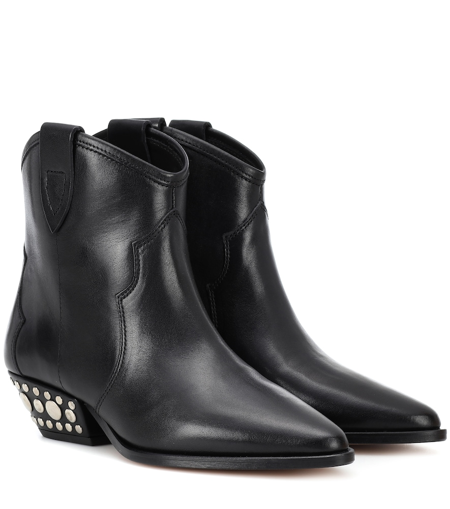3ebc653f1d2 Dawnya studded leather ankle boots