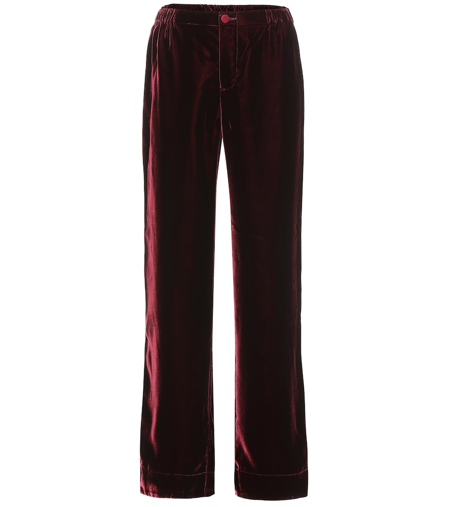 Pantalon de pyjama Etere en velours