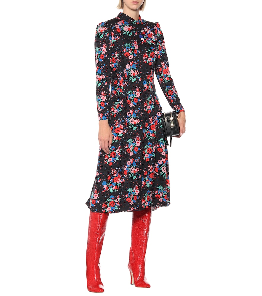 The '40s floral jacquard dress by Marc Jacobs
