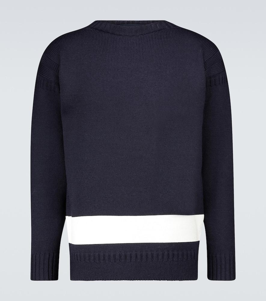 Guernsey British wool sweater