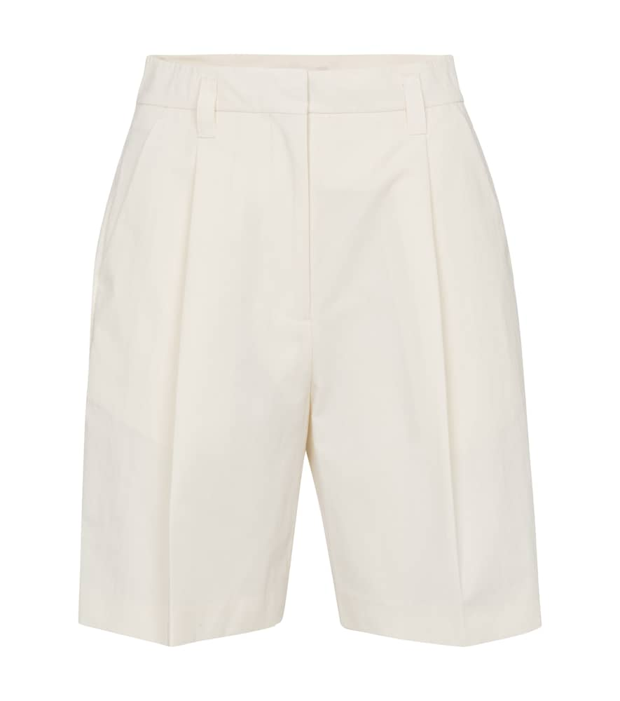 Low Classic HIGH-RISE COTTON-BLEND SHORTS