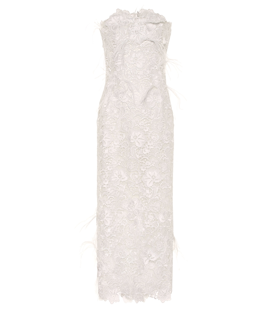 Charabella guipure lace gown