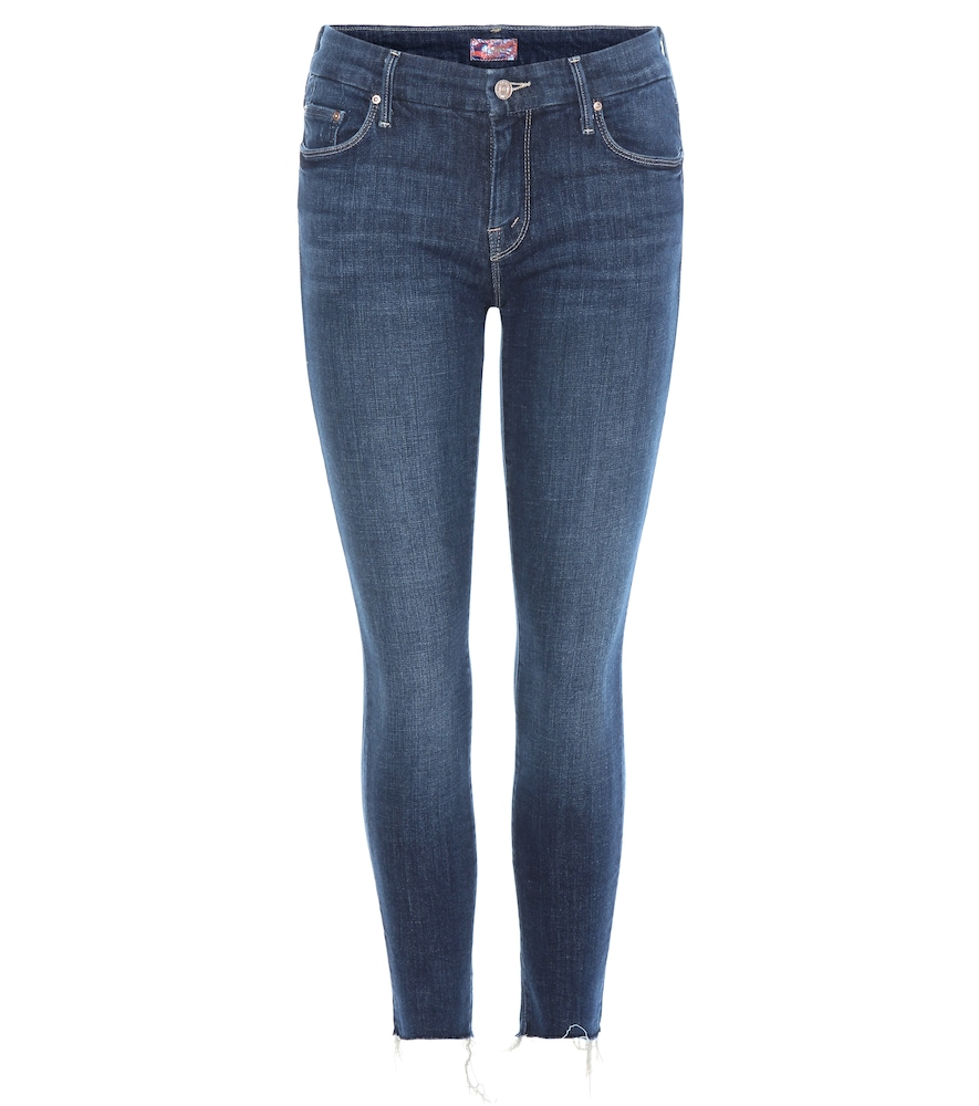 MOTHER | The Looker Ankle Fray Jeans | Goxip
