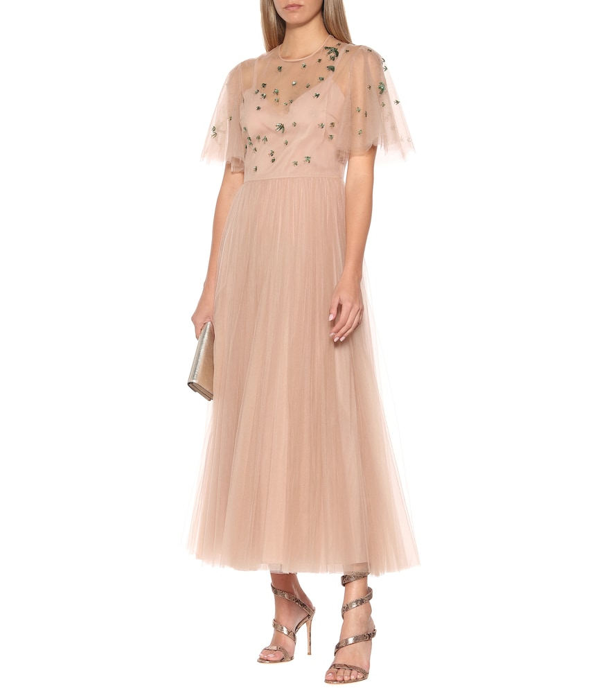Sequined tulle gown by Valentino