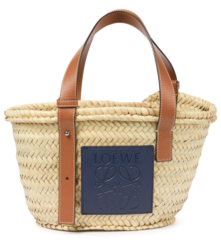 Paula's Ibiza Anagram Small basket tote