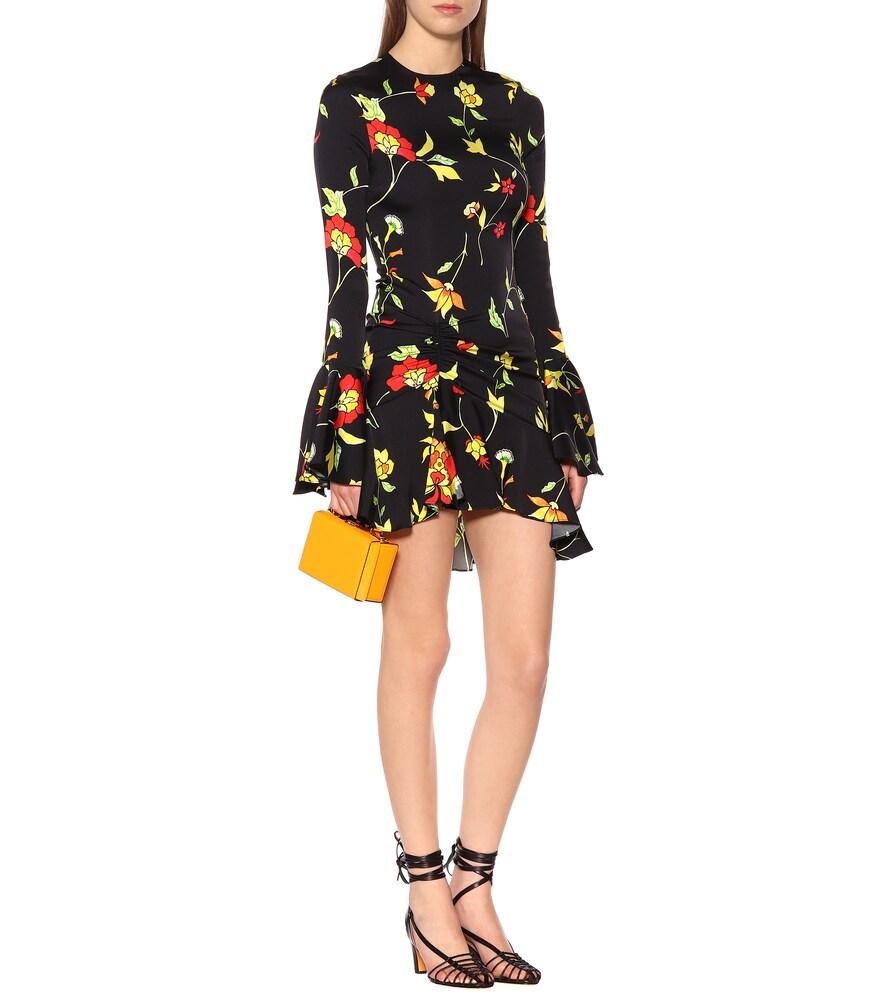 Monique floral silk-blend dress by Caroline Constas