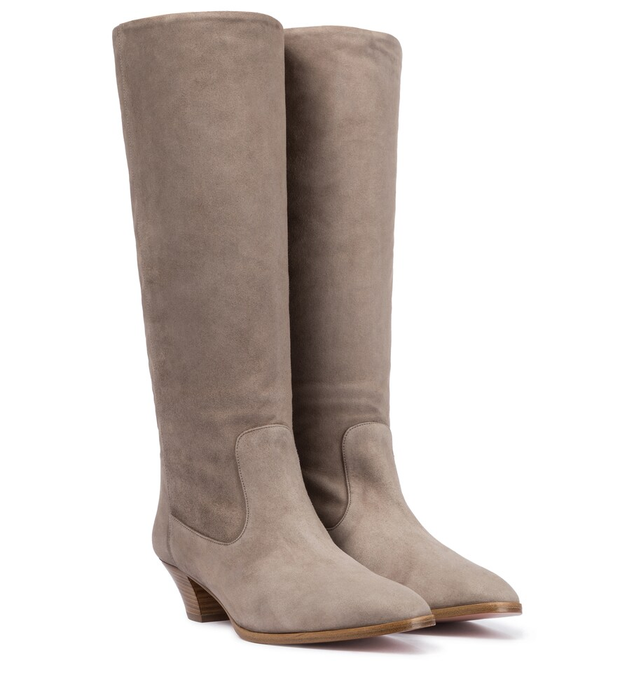 Boogie 45 suede knee-high boots