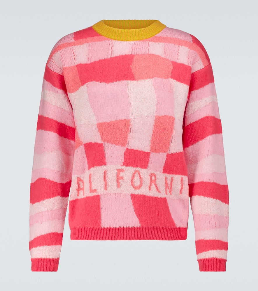 Erl Clothing CALIFORNIA PATCHWORK SWEATER