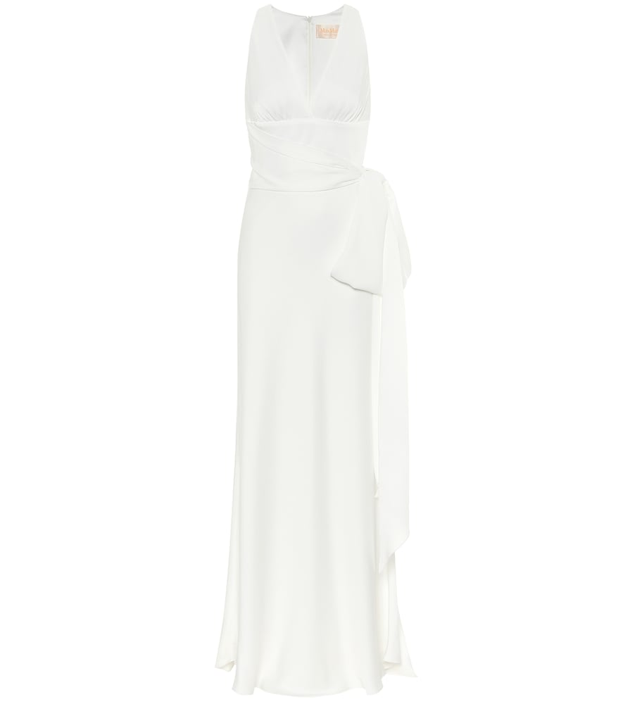 Cester satin gown by Max Mara