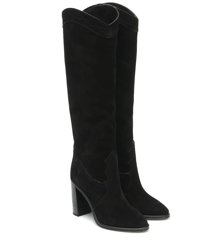 Kate 90 suede knee-high boots