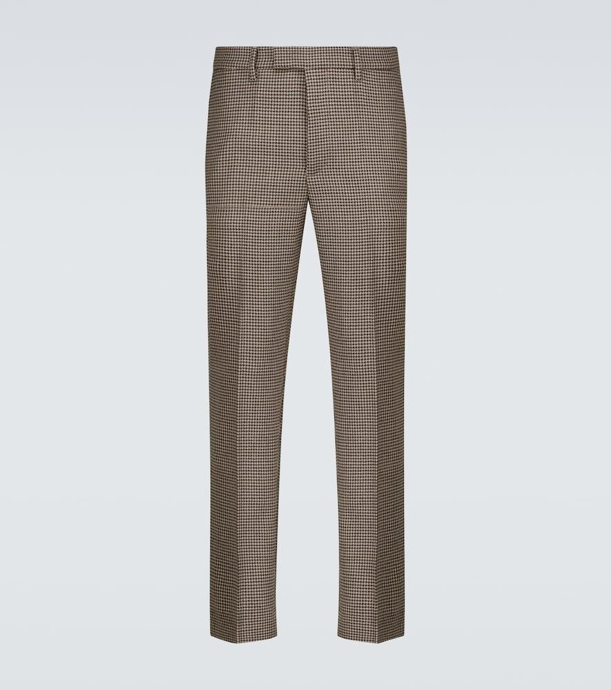 Capovae Zatara wool houndstooth pants