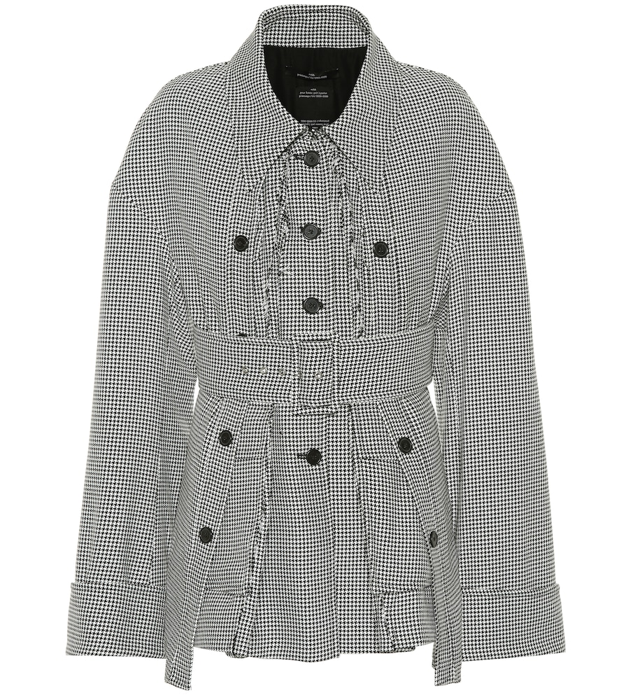 Rokh HOUNDSTOOTH JACKET
