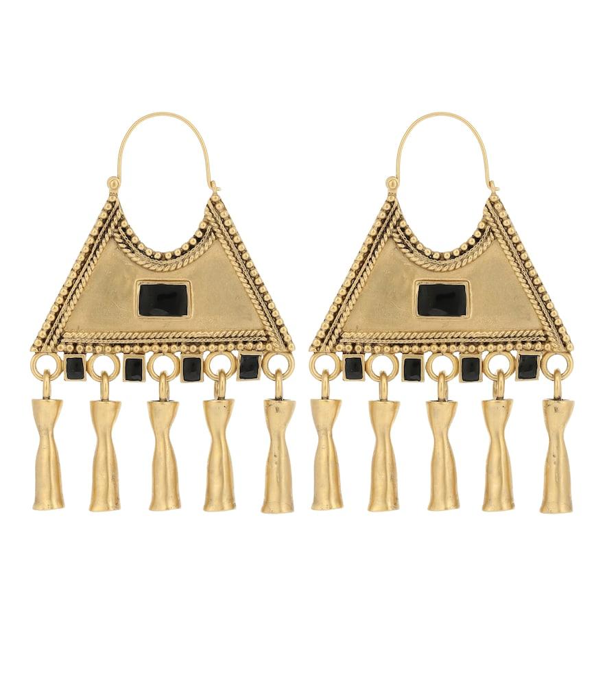 Boucles d'oreilles Triangle Charm - Saint Laurent - Modalova