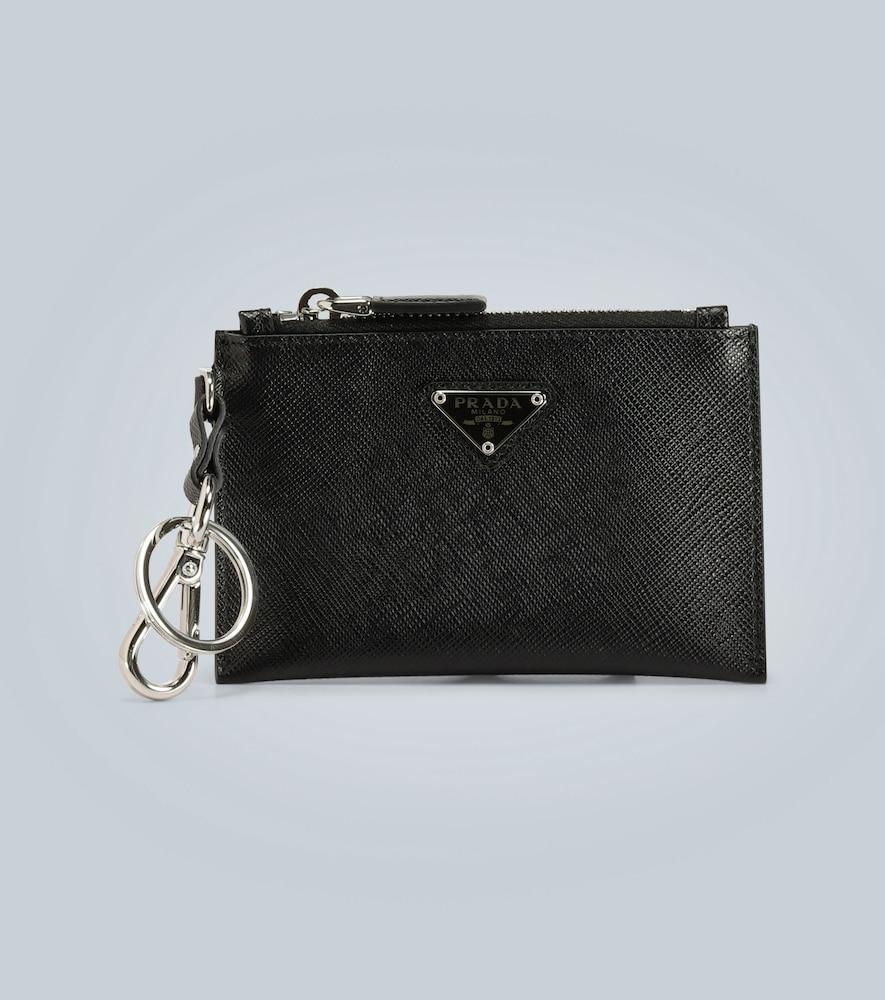 Pochette zippée et porte-clés - Prada - Modalova