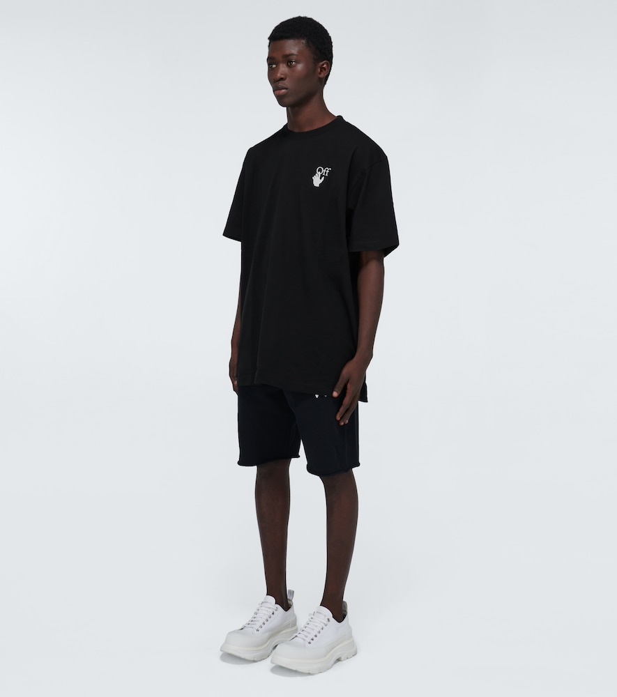 OFF-WHITE Cottons MARKER OVERSIZED COTTON T-SHIRT